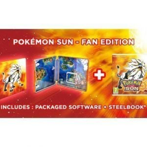 Nintendo Pokémon Sun 3ds Fan Edition