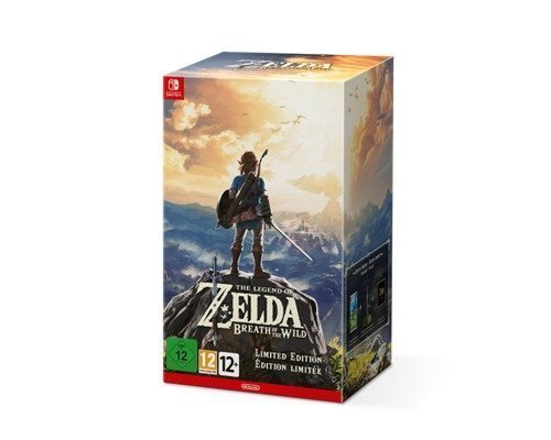 Nintendo The Legend Of Zelda: Breath Of The Wild Limited Edition