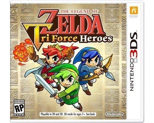 Nintendo The Legend Of Zelda: Tri Force Heroes