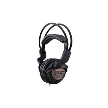 NoiseHush NX22R Stereo Headphones Wood