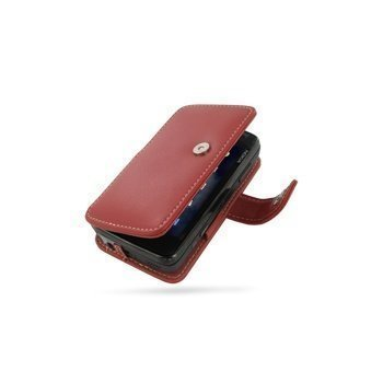 Nokia N900 PDair Leather Case 3RNK9SB41 Punainen