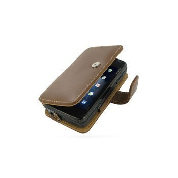 Nokia N900 PDair Leather Case 3TNK9SB41 Ruskea