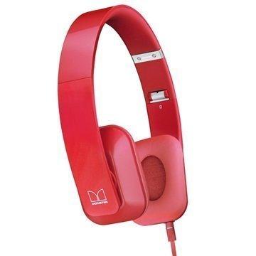 Nokia WH-930 Purity HD Stereokuulokkeet Monster Punainen