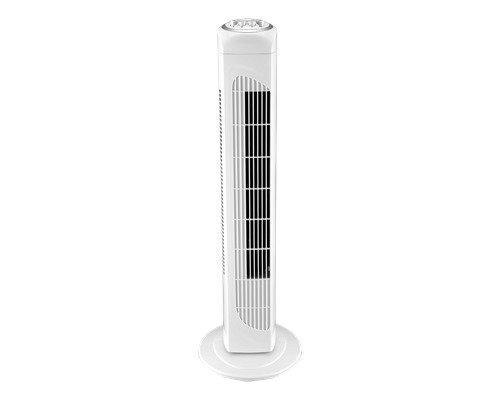 Nordic Home Culture Kuling Tower Fan 3 Speed White