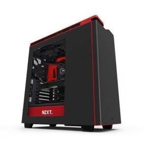 Nzxt H Series H440 Punainen Himmeä Musta