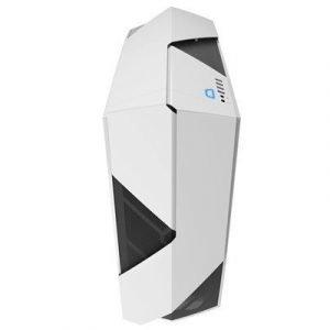 Nzxt Noctis 450 Kiiltävä Valkoinen Blue Accents