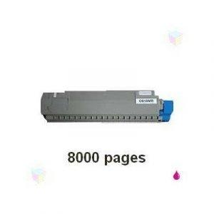 Oki Värikasetti Magenta 8k C810/c830
