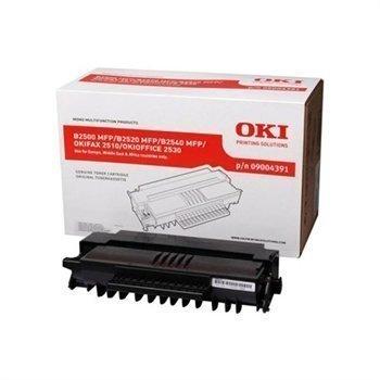 Okidata B 2500 MFP OKIFAX 2510 OKIOFFICE 2530 Toner 09004391 Black