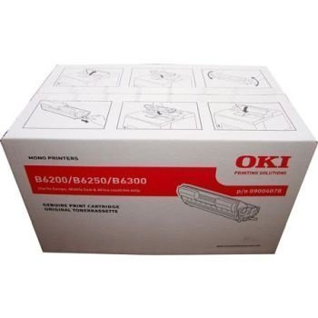 Okidata B 6200 B 6300 Toner 09004078 Black