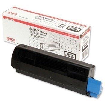 Okidata C 3200 C 3200 N Toner 42804540 Black