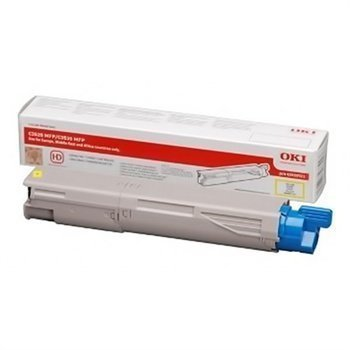 Okidata C 3520 MFP MC 350 Toner 43459369 Yellow