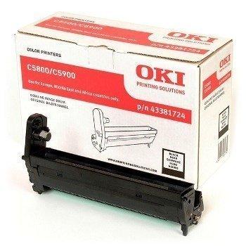 Okidata C 5550 MFP C 5800 C 5900 Drum 43381724 Black