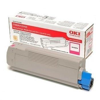 Okidata C 5550 MFP C 5800 C 5900 Toner 43324422 Magenta