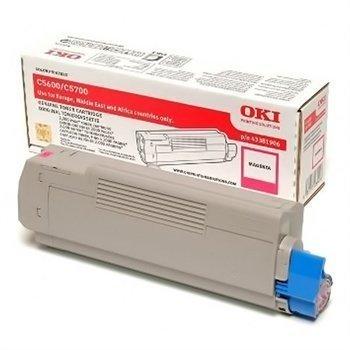 Okidata C 5600 C 5700 Toner 43381906 Magenta