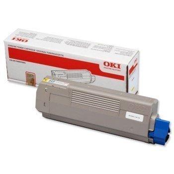Okidata C 610 N C 610 DN C 610 DTN Toner 44315305 Yellow