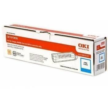 Okidata C 810 C 830 Toner 44059107 Cyan