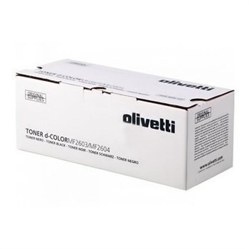 Olivetti B0946 Toner D-COLOR MF 2603 2604 Musta