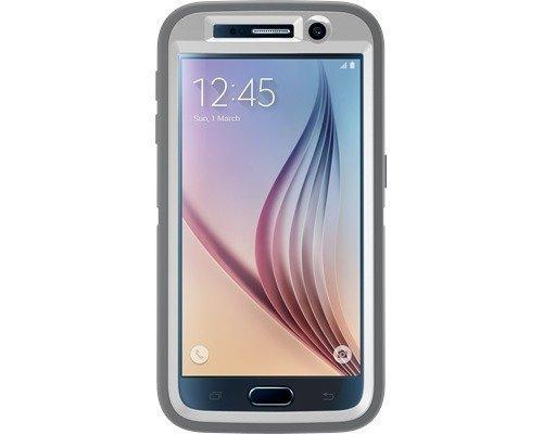 Otterbox Defender Samsung Galaxy S6 Valkoinen Harmaa