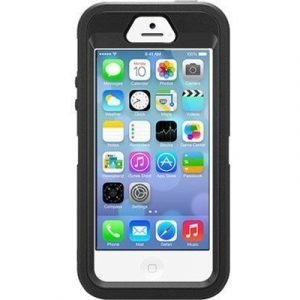 Otterbox Defender Series Apple Iphone 5s Iphone 5/5s/se Black/black