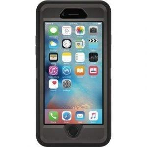 Otterbox Defender Series Takakansi Matkapuhelimelle Iphone 6 Plus/6s Plus Musta