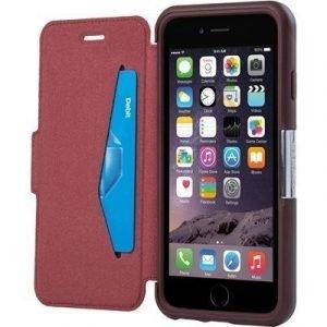 Otterbox Strada Läppäkansi Matkapuhelimelle Iphone 6/6s Punainen