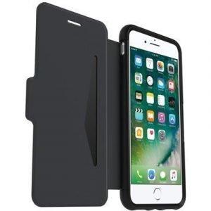 Otterbox Strada Premium Folio Läppäkansi Matkapuhelimelle Iphone 7 Plus Musta