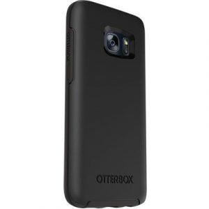 Otterbox Symmetry Series Takakansi Matkapuhelimelle Samsung Galaxy S7 Edge Musta