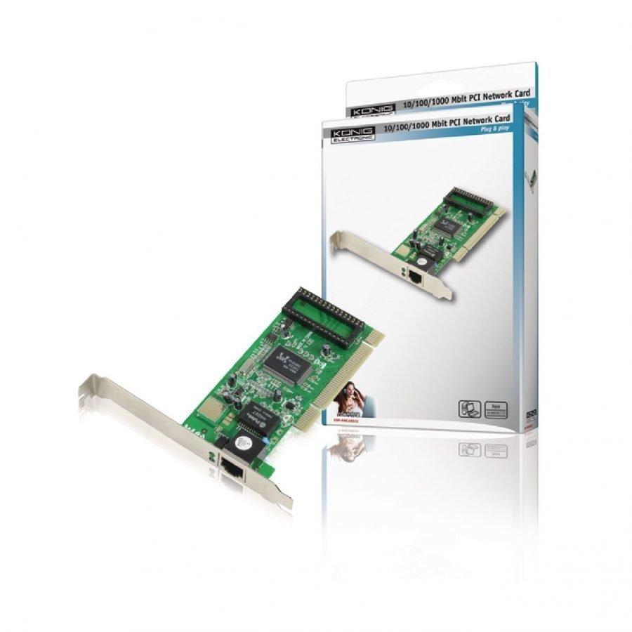 PCI verkko kortti 10 / 100 / 1000 Mbps