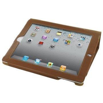 """PDair Kirjamallinen läppäkotelo iPad 2 iPad 3 iPad 4 â"""" Ruskea"""