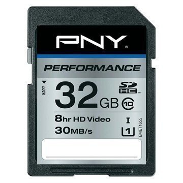 PNY SD32G10PER-EF Performance SDHC Memory Card 32GB