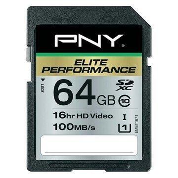 PNY SD64G10ELIPER-EF Elite Performance SDXC Muistikortti 64Gt