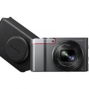 Panasonic Lumix Dmc-tz100 + 32gb + Kameralaukku Hopea