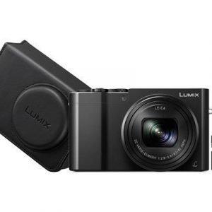 Panasonic Lumix Dmc-tz100 + 32gb + Kameralaukku Musta