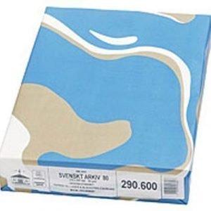 Papyrus Paper Copy Svenskt Arkiv A4 100g Unpunched 500/fp 5-pack