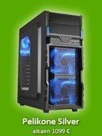 Pelikone Silver - Core i5 6500 / R9 380