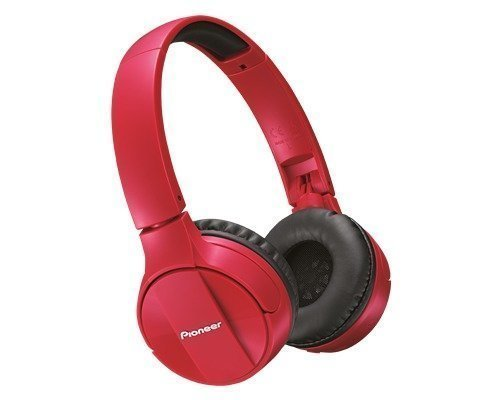 Pioneer Se-mj553bt Bluetooth Headphone Red