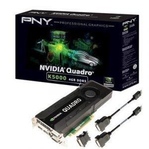 Pny Nvidia Quadro K5000 For Mac Näytönohjain