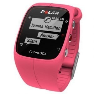 Polar M400 Hrm Sports Watch Pink