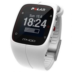 Polar M400 Hrm Sports Watch White