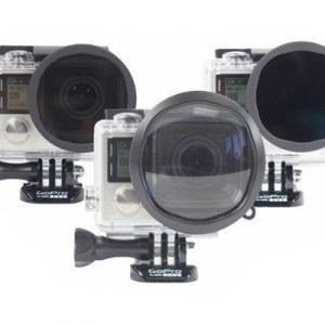 Polar Pro 3-pack Filter (polarizer Nd Macro) For Gopro