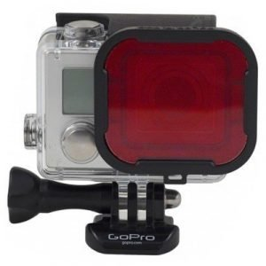 Polar Pro Red Filter For Gopro Hero 3+/4