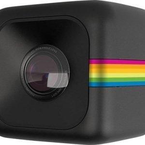 Polaroid Cube+ Musta Sateenkaaren Raita