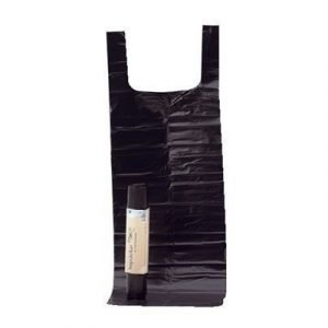 Polynova Plastic Bag Ld Tie 50my 125l Black 8-pack