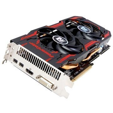 PowerColor TurboDuo Radeon R9 280 3Gt GDDR5 OC Näytönohjain korjattu