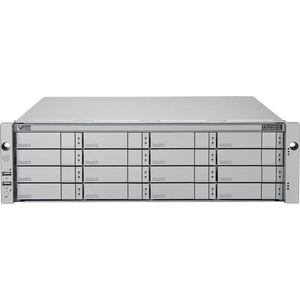 Promise Vess 2000 R2600 FC/ IP-SAN 16x2TB NL SAS 3U/16bay 2xCtrl 2xPSU
