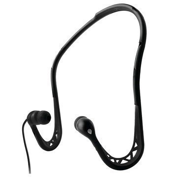 Puro In-Ear Sport Stereokuulokemikrofoni Niskasangalla- Musta