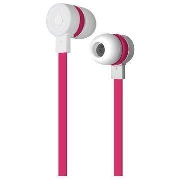 Puro Sport In-Ear Stereokuulokkeet Valkoinen / Pinkki