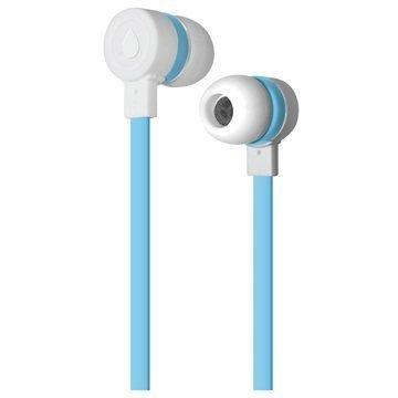 Puro Sport In-Ear Stereokuulokkeet Valkoinen / Sininen
