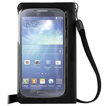 Puro Vesitiivis Lompakkokotelo iPhone 5S iPhone SE HTC One mini 2 Nokia X Musta