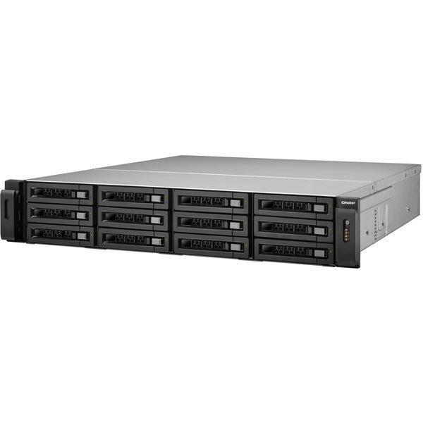 QNAP 12-bay NAS SAS/SATA-enabled unified storage